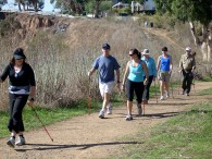 "Nordic walking to ""Walk this way"" to health."