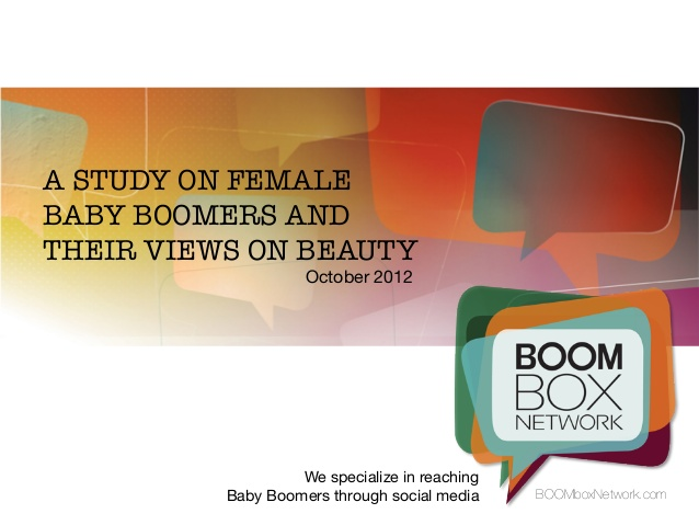 A new survey asked boomer women what they really think about beauty.