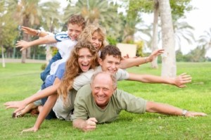 Strong grandparent - adult grandchild relationships