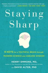 "Read ""Staying Sharp"" and train your brain."