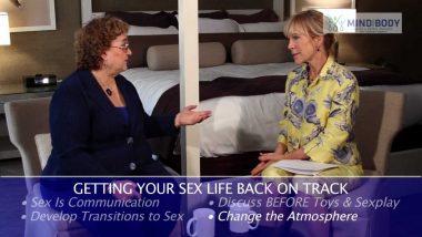 Communication improves sex so start talking