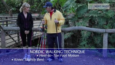 Get fit with Nordic walking and 'Walk this way!