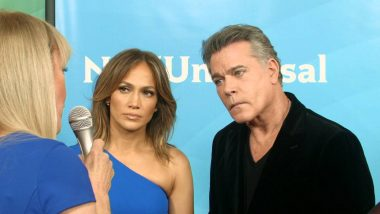 Happy over 'Shades of Blue': Jennifer Lopez and Ray Liotta